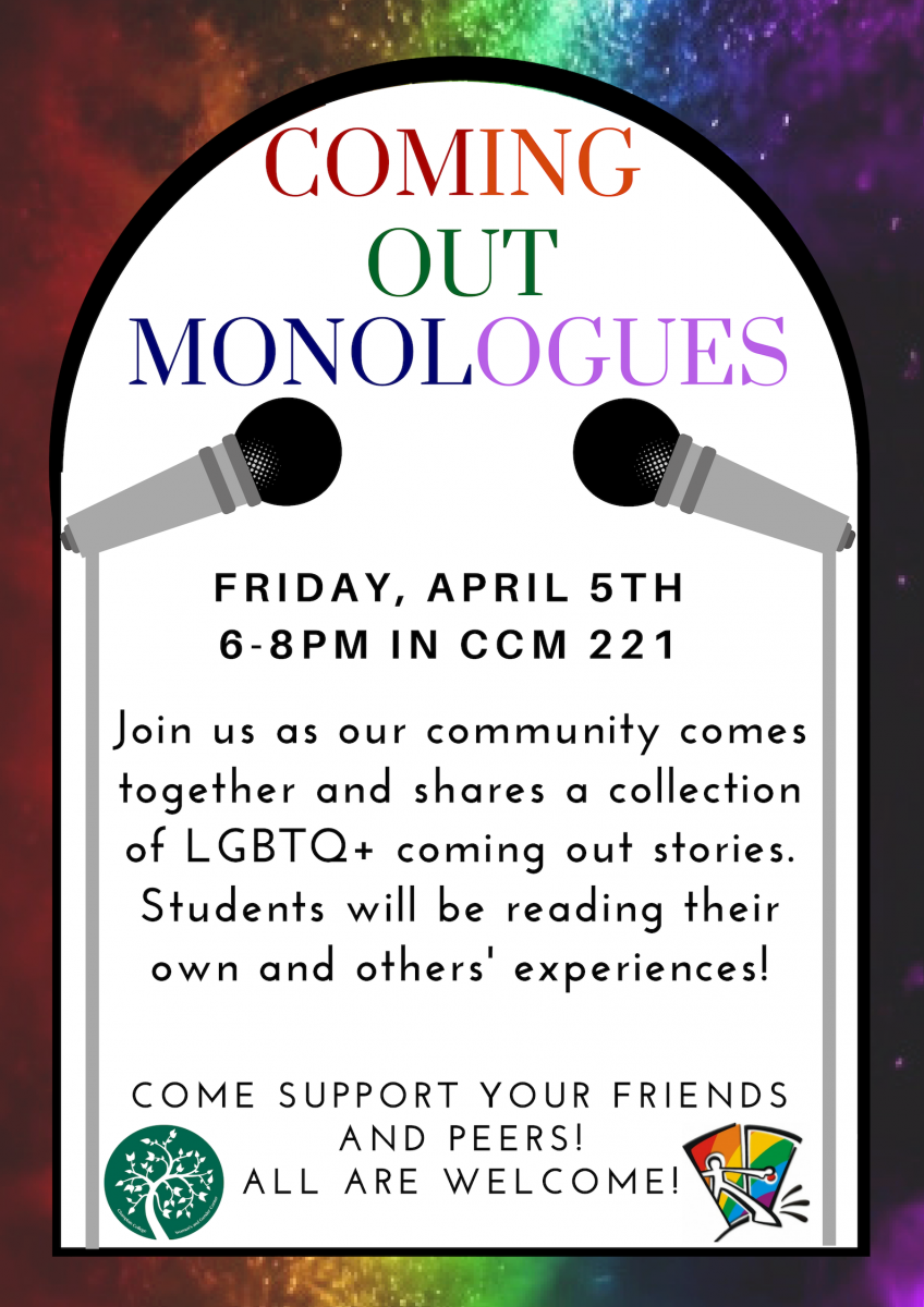 Coming Out Monologues – April 5 I