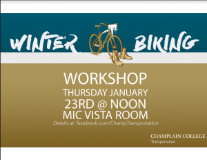 Winter Biking Workshop – Jan 23rd @ Noon